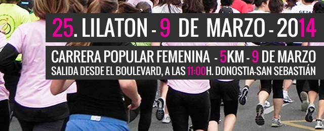 25ª Lilatón ¡Anímate y participa! Image
