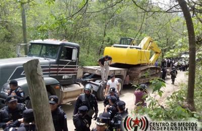 Comunicado de La Asociación Colectivo Poder y Desarrollo Local sobre el desalojo violento de la Puya Image