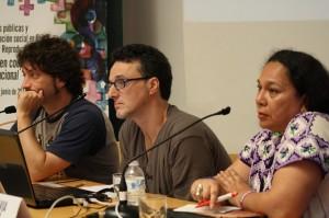 Rikardo Fernández, Jorge Irazola y Ana Silvia Monzón