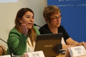 Verónica Cruz y Teresa Maldonado