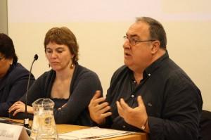 María Luisa Delgado y Juan Luís Uría