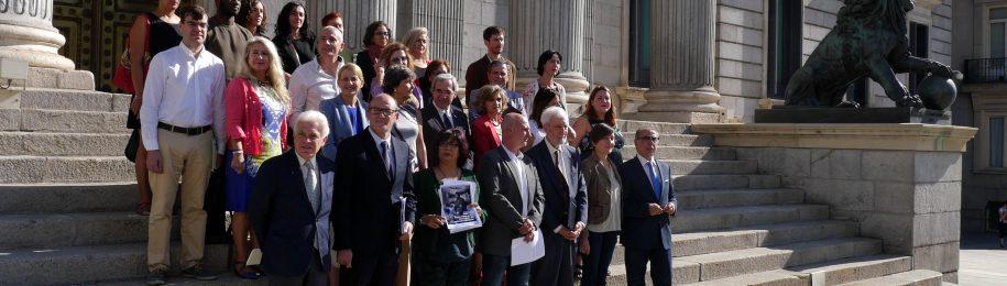 Los partidos de la oposición firman un Pacto por un sistema sanitario público y universal en el Congreso de los Diputados Image