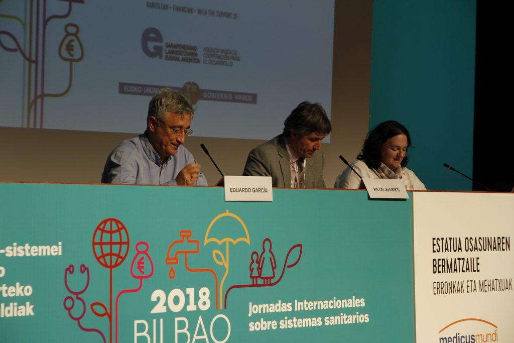 Eduardo García Langarica, presidente de la Federación de Asociaciones de Medicus Mundi de España