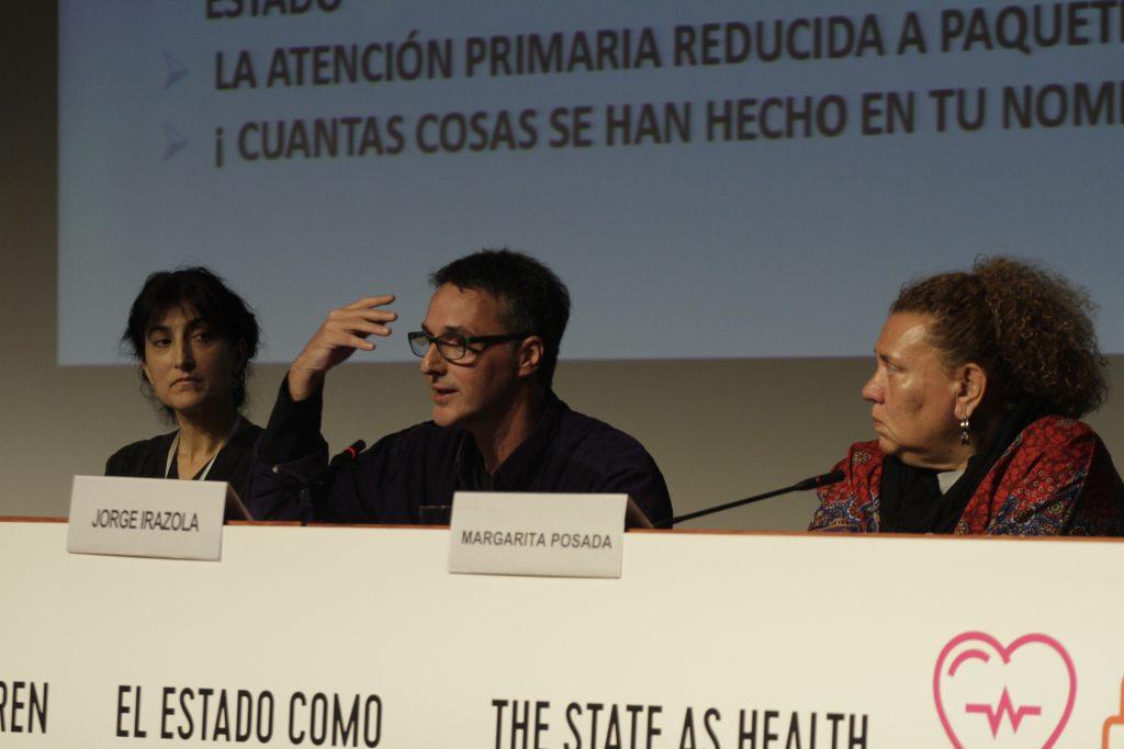 Iratxe Amiano, Jorge Irazola y Margarita Posada