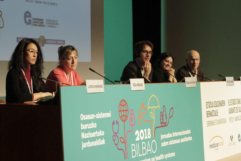 Mesa redonda en torno a a la las amenazas a la salud y la equidad en los distintos escenarios