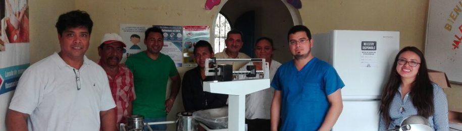 Crowdfundingaren helburua beteta: materialak GUatemalako El Reposo herriko osasun zentrora heldu dira Image