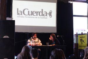 Maria Dolores Marroqiun es miembro de la asociación LaCuerda de Guatemala (Foto: Ecuador Etxea)