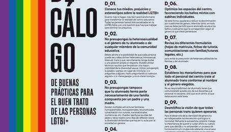 DECÁLOGO de Buenas Prácticas para el Buen Trato de las Personas LGTBI+ – FBP ADSIS GETXO-LEIOA Image