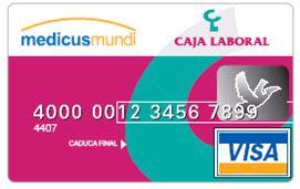 ¡Gracias por usar la tarjeta VISA medicusmundi! Image