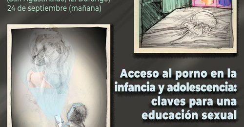 """JORNADA """"Trata de mujeres y niña con fines de explotación sexual"""" y MESA REDONDA """"Acceso al porno en infancia y adolescencia: claves para una educación sexual"""""""